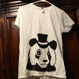 Ladies Panda Tee